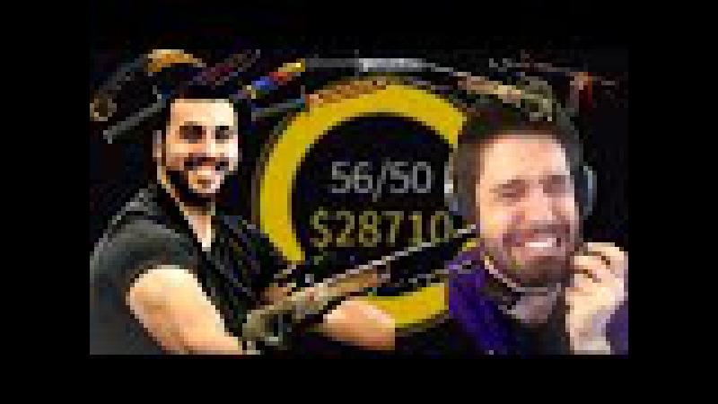 M0e_Tv Snipes Phantoml0rd for over 11,000,00$ on CSGOSHUFFLE