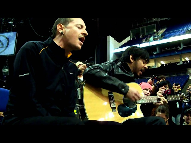 Linkin Park Leave Out All The Rest acoustic- summit London 2010