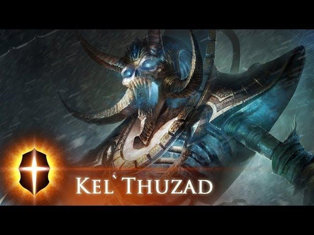 Kel'Thuzad - Original SpeedPainting by TAMPLIER 2012