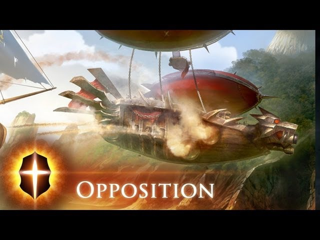 Opposition - Original SpeedPainting by TAMPLIER 2012
