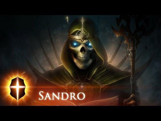 Sandro - Original SpeedPainting by TAMPLIER 2012