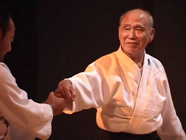 Demonstração de Aikido com Ono sensei