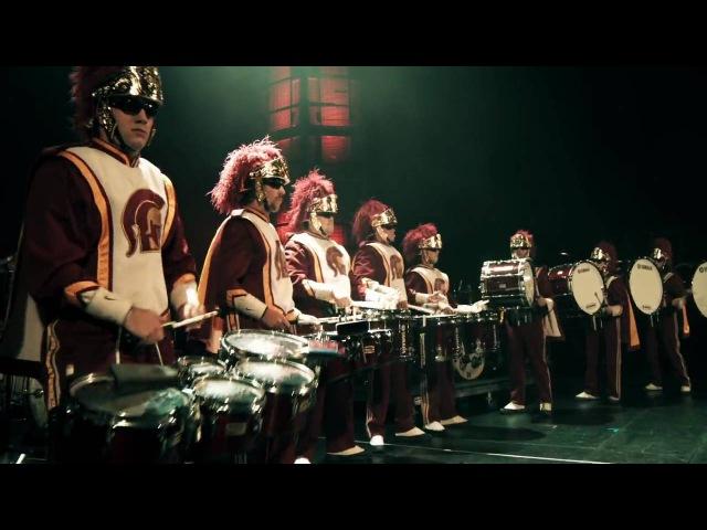 смотреть с 3 минуты USC Drum Line