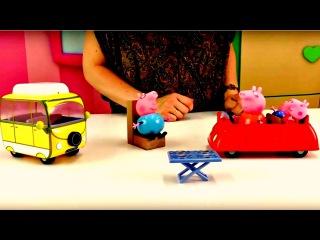 Peppa Pig peppapig va au pique nique! Dessin animé dessinanimé avec jouets