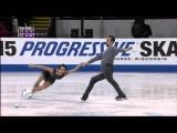 2015 GP Skate America. Pairs - FP. Ksenia STOLBOVA / Fedor KLIMOV