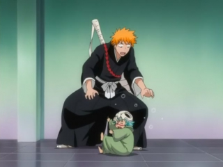 Ella_Hum_Bleach - 155 - Rukia Retaliates! Release the Desperate Kido [480p] [h
