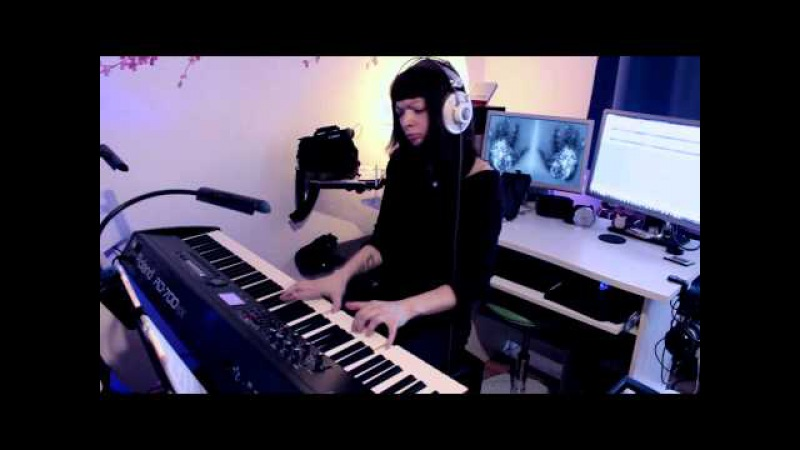 Iron Maiden - Run To The Hills - piano cover version 2