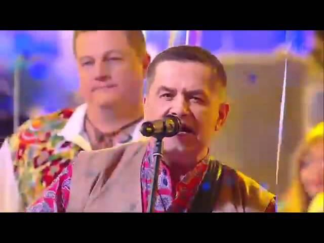 Николай Расторгуев и Город 312 Ягодно-молочный коктель Новогодняя ночь на 1 канале