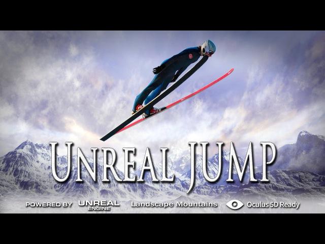 Эпичный прыжок с трамплина! Unreal Jump - Oculus Rift