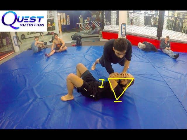 Fast and Easy Side-Control Escape 2 - Firas Zahabi