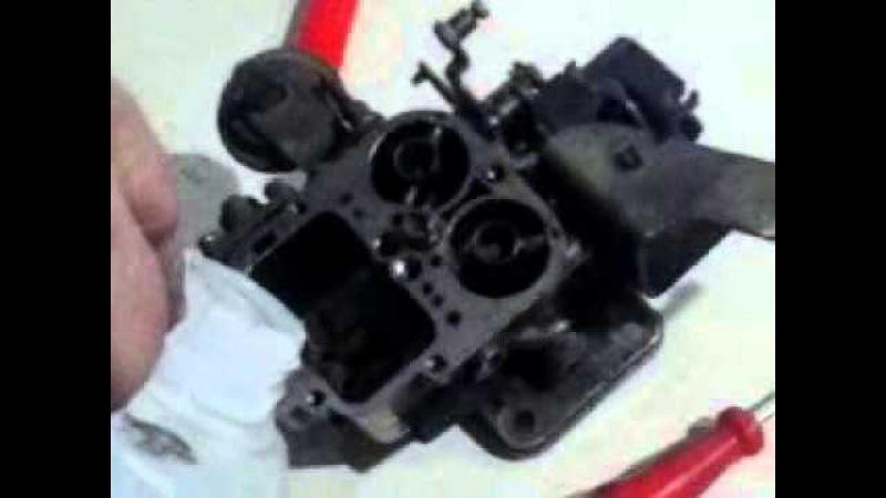 Desmontando e Montando um Carburador Duplo Weber Profº Previtali Part 22