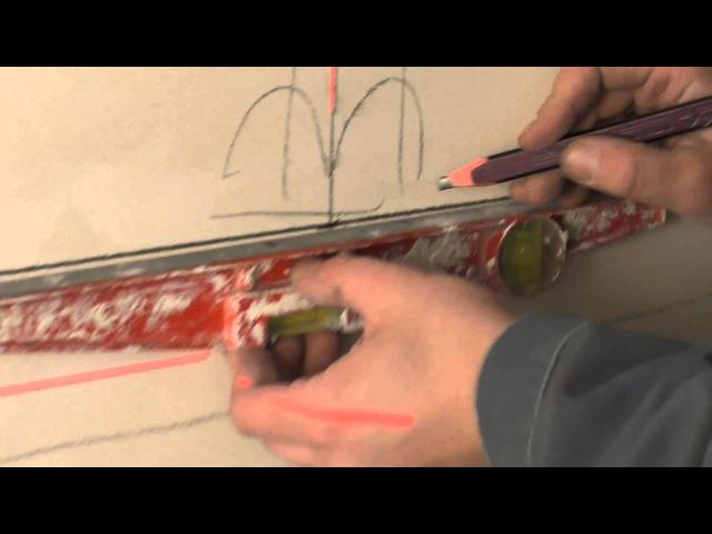 Т5 Разметка стен и потолков для монтажа электропроводки
