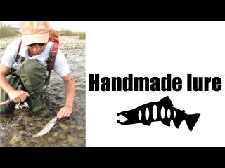 Handmade lure. Тестирование воблеров ручной работы.