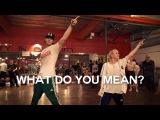 Justin Bieber - What Do You Mean - Choreography by @NikaKljun &amp @SonnyFp - Filmed by @TimMilgram