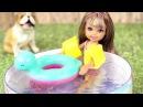 Как сделать бассейн для куклы своими руками 548