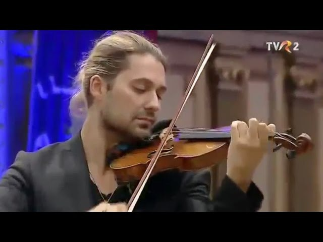 David Garrett şi Monte-Carlo Philharmonic Orchestra - Partita nr. 1 pentru vioară (J. S. Bach)