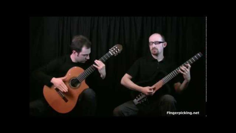 Black Orpheus / Manhã de Carnaval (L. Bonfa) - Bruskers Guitar Duo for Fingerpicking.net