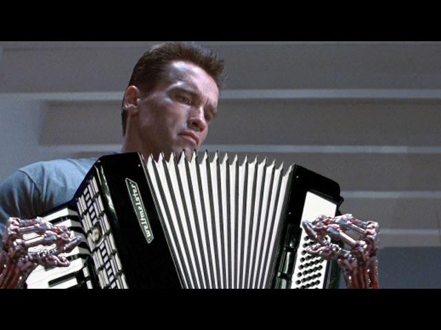 [DualSide] Terminator Main Theme on Accordion