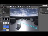 Unreal Engine 4. Blueprint. Урок 2. Создаем интерактивную дверь.