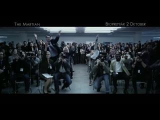 Марсианин/The Martian (2015) Шведский ТВ-ролик №2