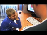 Папа объясняет сыну откуда берутся дети