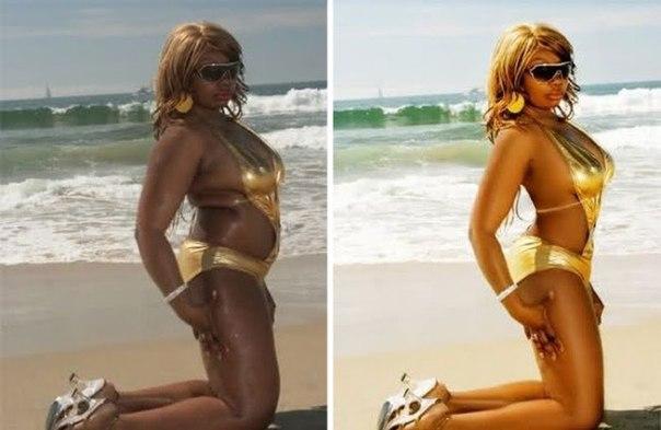 FRkhGKvGGaI - Фотографии знаменитостей до и после фотошопа (15 звезд)