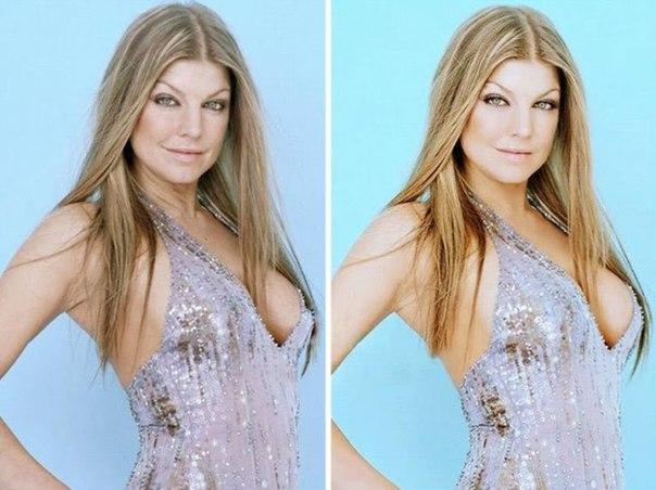 dNUk2tA1NUM - Фотографии знаменитостей до и после фотошопа (15 звезд)