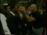 Драка Майк Тайсон VS Стив Остин.Сюжет 1 канал и РТР 1998 год