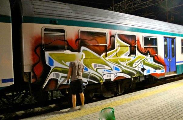 graffiti panel