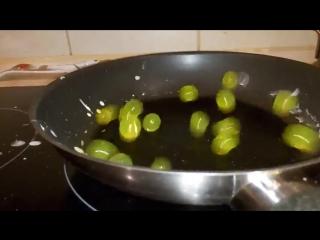 Гидрогель на сковороде