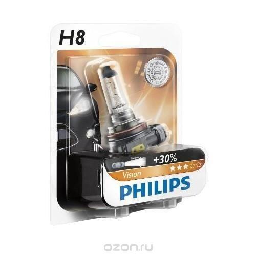 Автомобильная лампа H9 65W 1 шт. Philips 12361C1 - фото 10