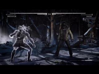 Predator vs Jason MK X (PS4)
