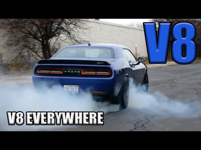 15 Best Sounding V8 Engines