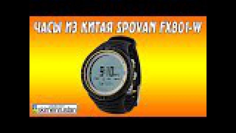 Часы из Китая SPOVAN FX801-W