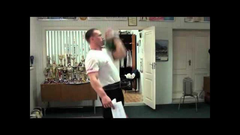 Обучение сбрасыванию с груди от МСМК Игоря Морозова