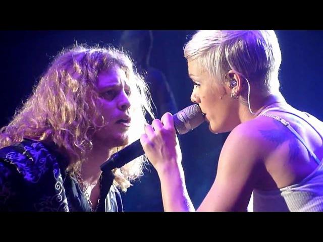 Pink Led Zeppelin Babe I'm gonna leave you 5 12 09 Luxemburg
