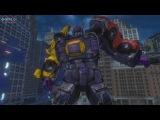 TRANSFORMERS Devastation - Autobots v Menasor Boss Battle 1080p 60FPS HD