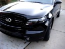 Infiniti Custom Headlights with LED rings and remote by ExtremeDesignz