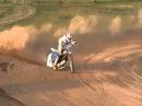 Ben Shields Speedway 500cc JRM on his junior training track
