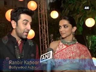 Ranbir, Deepika celebrate Diwali in Delhi