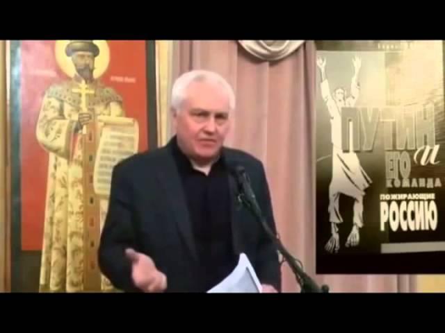 Экс-министр Борис Миронов про президента РФ - главного уголовника страны