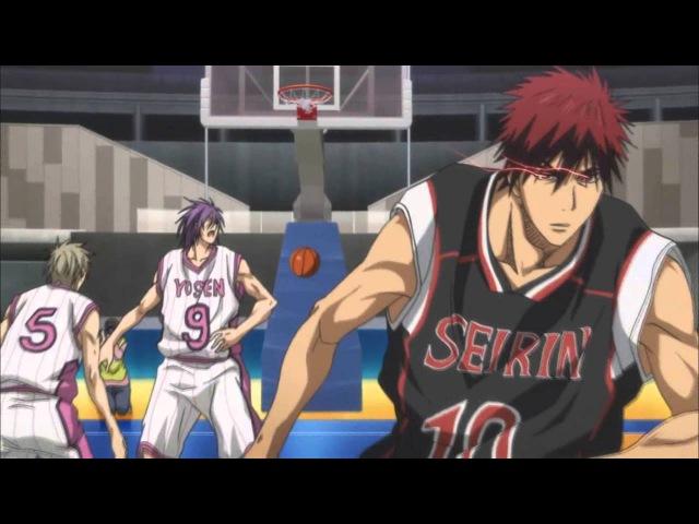 Kuroko No Basket AMV Seirin Vs Yosen Zone Murasakibara Vs Kagami