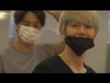 [GILLYFLOWER]150829 EXO Baekhyun at Gimpo/Haneda Airport