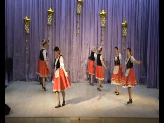 венгерский танец-чардаш ансамбль