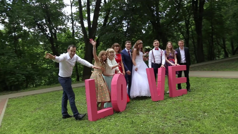 прогулка в парке наша свадьба 💕❤💗06 06 2015