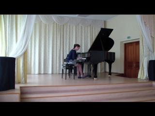 Прощальный Вальс М. Глинка - последее 4 произведение в программе. Виктория Эльза Чайкина.