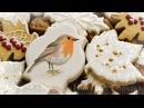 Handpainted Robin Cookie