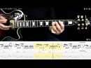 MEGADETH - Holy wars how to play part 2/2 free guitar lesson 40 60 and 80 speed with tabs