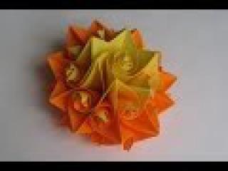 Как Из Бумаги Сделать Цветок Розу origami Curler (Herman Van Goubergen )Подарок Поделки с детьми