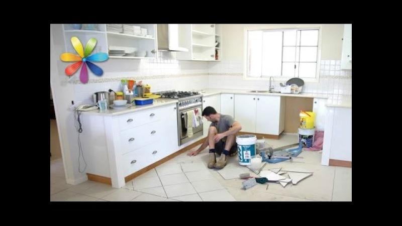 Ремонт на кухне при помощи пластиковой ложки и губки Все буде добре Выпуск 696 от 29 10 15